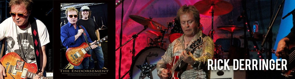 Rick Derringer: Endorsed by Pete Schmidt Music Assessories