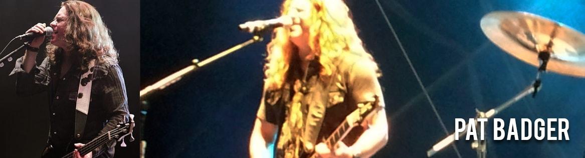 Pat Badger uses Pete Schmidt Guitar Straps